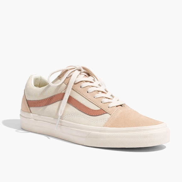 322e8925e6 NWT Madewell x Vans Old Skool Sneakers Camel Sz 6